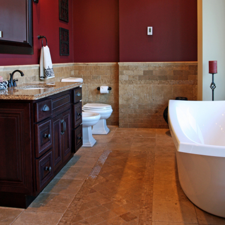 Four Things to Consider When Choosing Marble for your Bathroom Flooring
